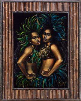 Midnight in Tahiti framed 20x25.jpg
