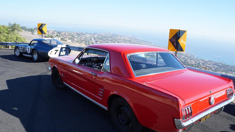 Daytona & '66 Mustang