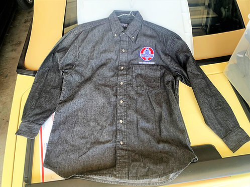 LASAAC Charcoal Denim Long Sleeve Shirt