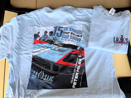 2019 Car Show T-Shirt-Miles   (Mens)