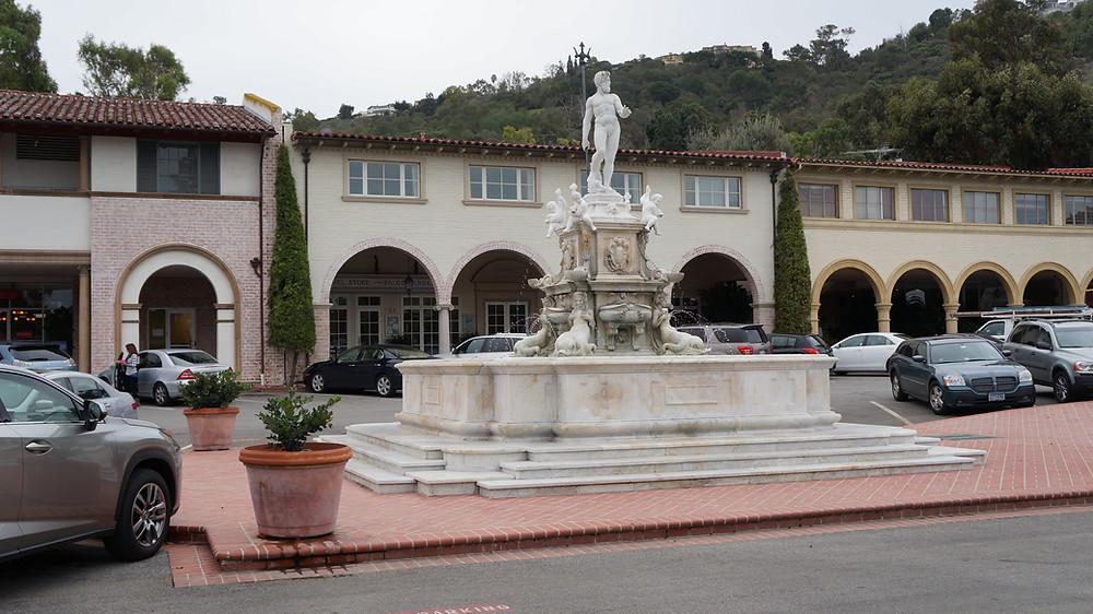 Neptune Fountain - Malaga Cove