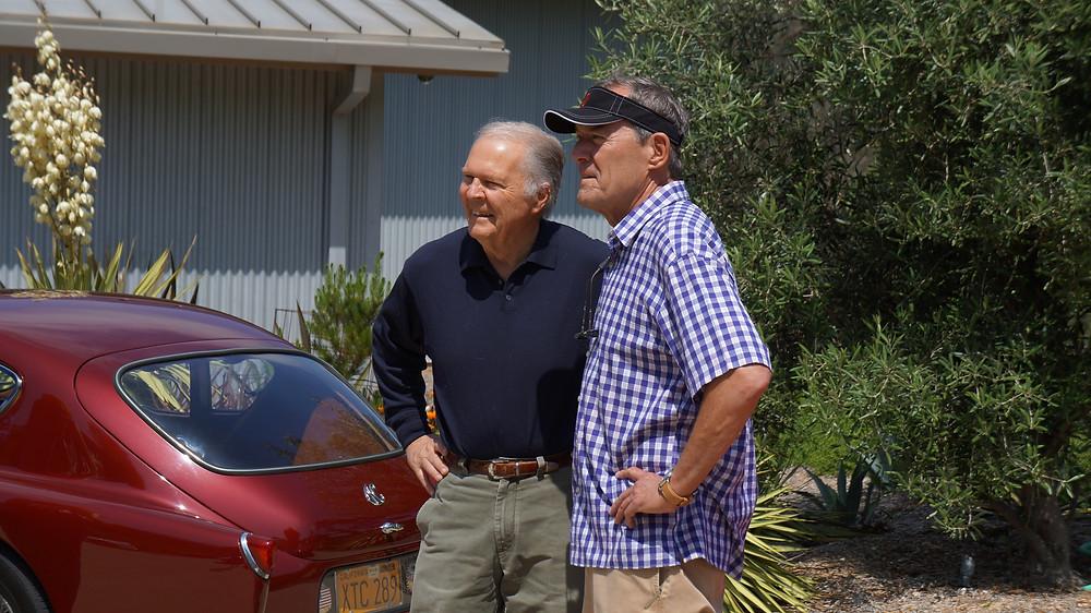Pete Brock (center)