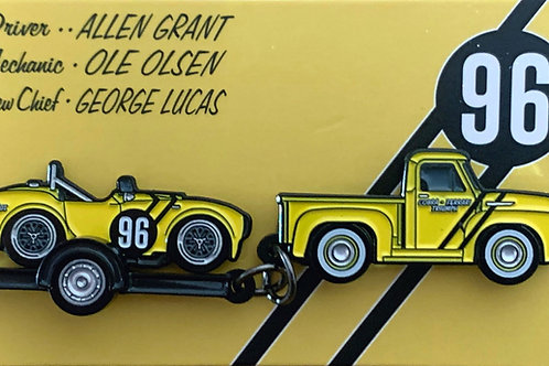 Allen Grant Cobra On Trailer & Ford F100 Pin Set