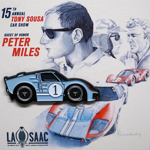 Ken Miles GT40 Pin