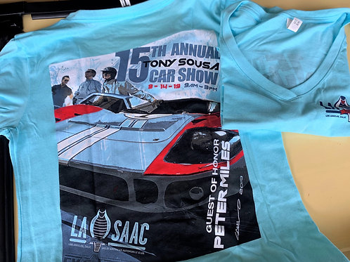 2019 Car Show T-Shirt-Miles   (Womens)