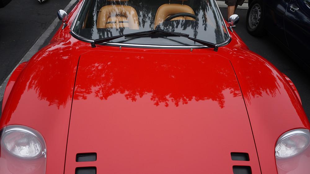 THAT Ferrari red!