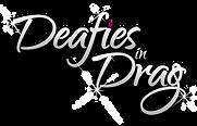 Deafies in Drag logo
