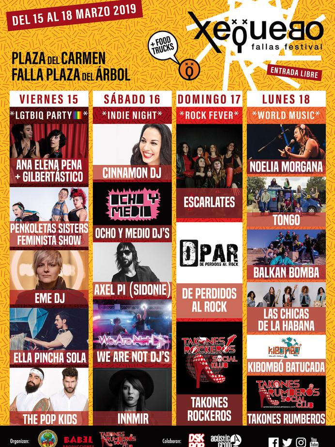 Xequebo (Fallas) 2019
