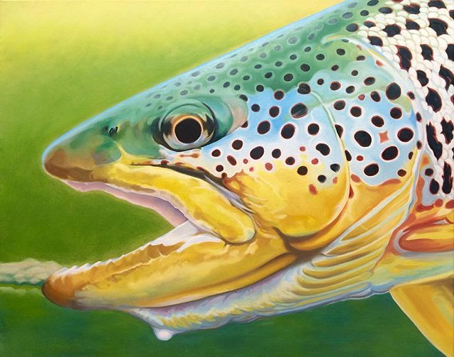 Barely Brown Trout