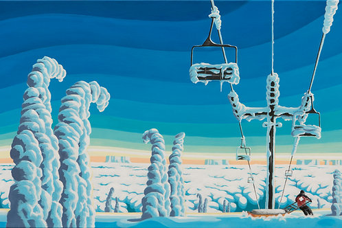 Ski Patrol Canvas
