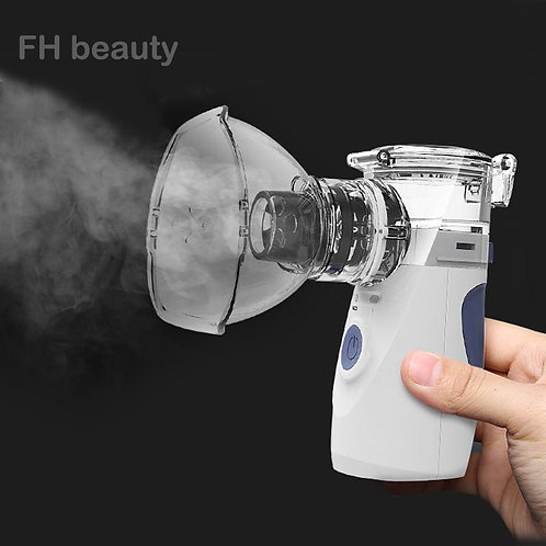 Handheld Portable Inhale Nebulizer Silent Ultrasonic Rechargeable Automizer
