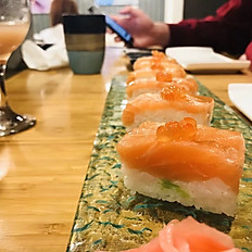 Salmon Avocado Oshizushi