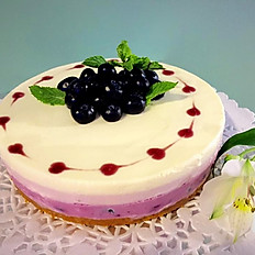 "Blueberry Cheesecake 8""  (Round)"