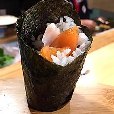 Salmon Tuna Hand Roll