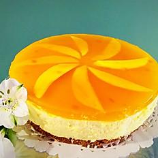"""Mango Cheesecake 8""""  (Round)"""