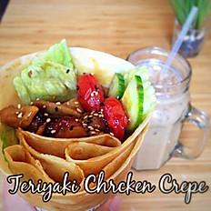 Teriyaki Chicken Crepe