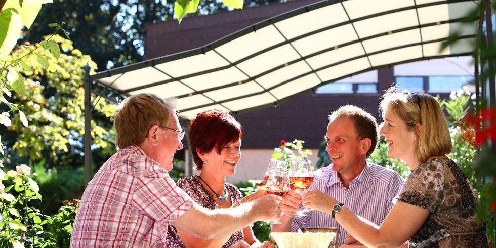 Besprochene Weinprobe - samstags 16:00 Uhr nach Voranmeldung