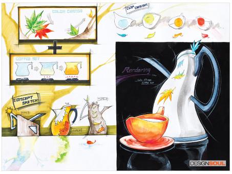 [기초디자인] 기초디자인&기초소양 평가를 위한 아이디어 스케치