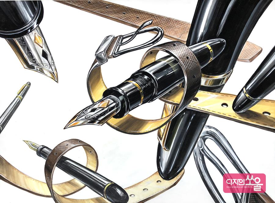 건국대 기초디자인 구도 재질 홍대미술학원