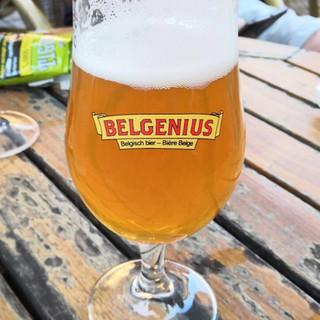 Belgnenius beer glass.JPG
