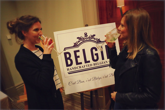 Belgin gin cocktails at Maison Rogers
