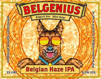 Belgenius Belgian Haze IPA NEIPA