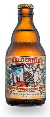 Belgenius Slow Brewed Golden Ale