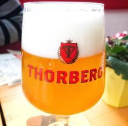 Thorberg five Hop Belgian IPA glass