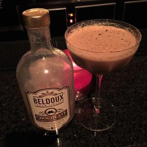 Beldoux chocolate cocktail at Alice Bar