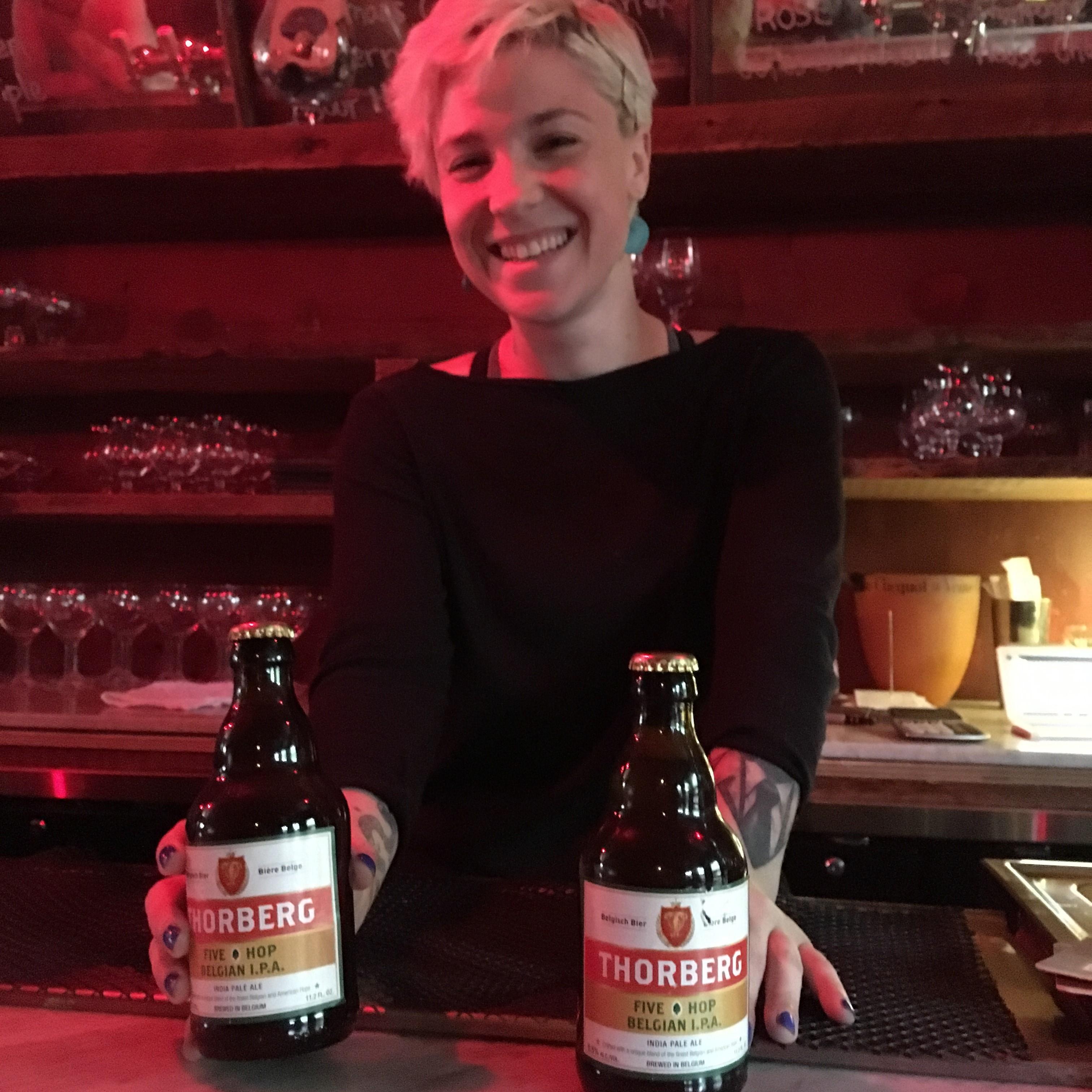 Craft beer in New York Thorberg best Belgian Ipa