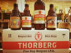 Thorberg Belgenius fier op ons bier