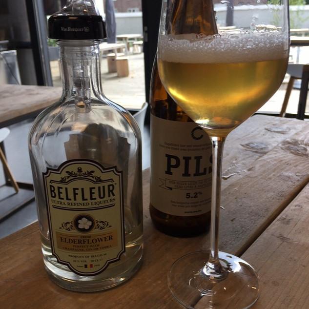 Belfleur Beer cocktail elderflower bier