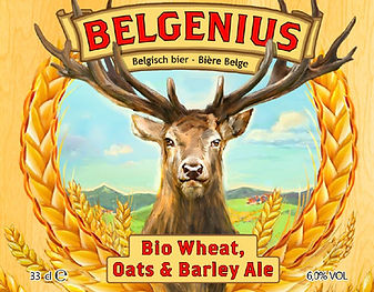 Belgenius Bio wheat oats & barley front