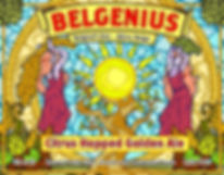Belgenius Citrus Hopped Golden Ale Front