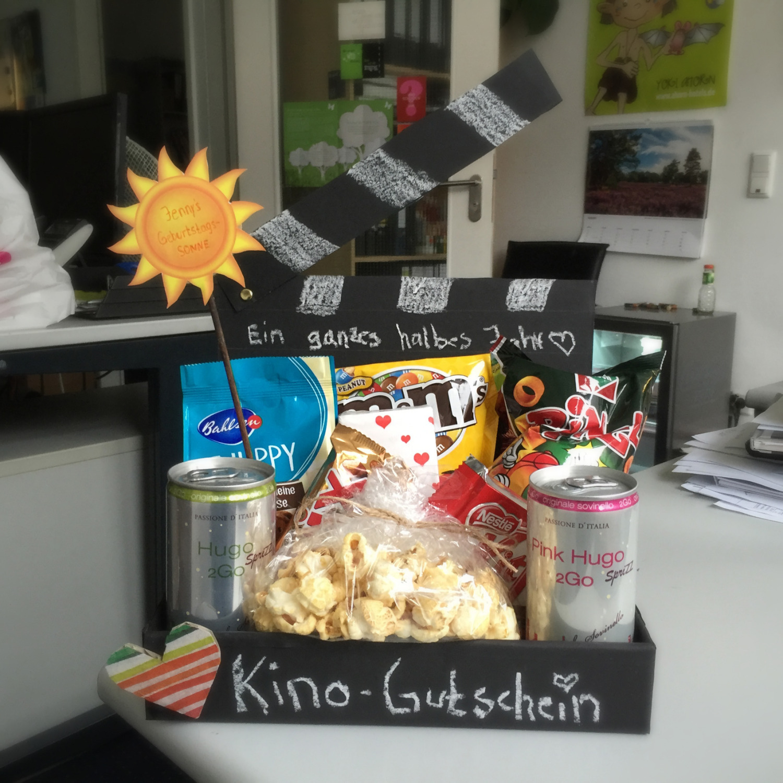 Kinogutschein Selbst Basteln Diy Blog Kreativimkopf