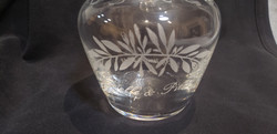 gravure sur Cristal de Baccarat