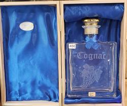 carafe à Cognac en coffret bois
