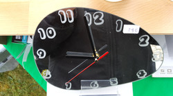horloge ovalisée
