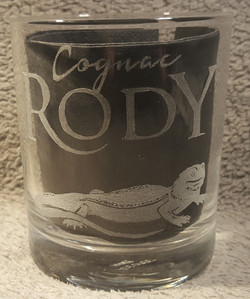 logo cognac RODY (verre whisky)