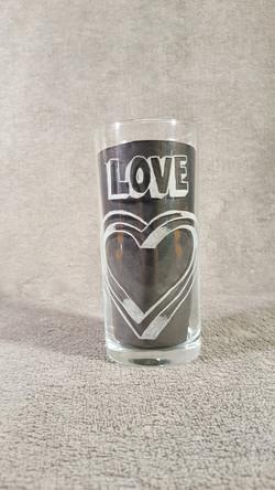 verre love en 3D