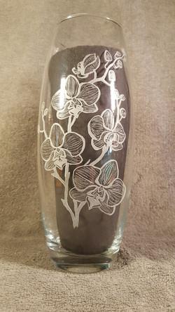 vase haut orchidées