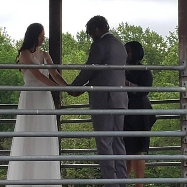 Intimate Ceremony at Lake Artemesia