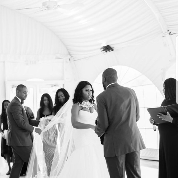 One of A Kind Ceremony at The Villa in Beltsville, Maryland