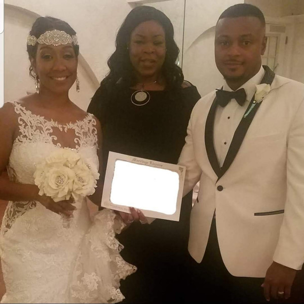 Gorgeous Ceremony at The Villa in Beltsville, Maryland