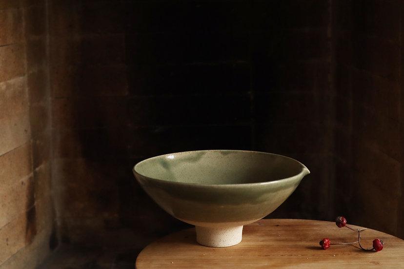 Green bowl #07