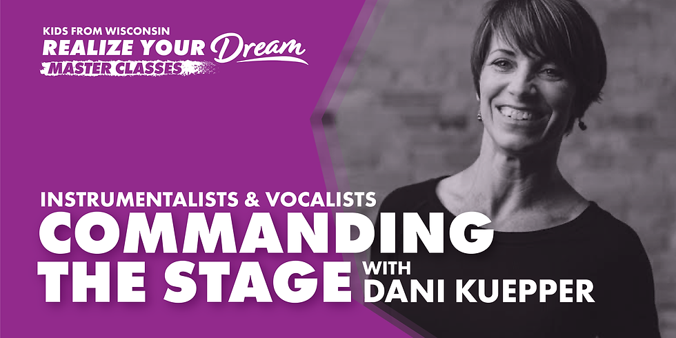 Virtual Master Class - Commanding The Stage