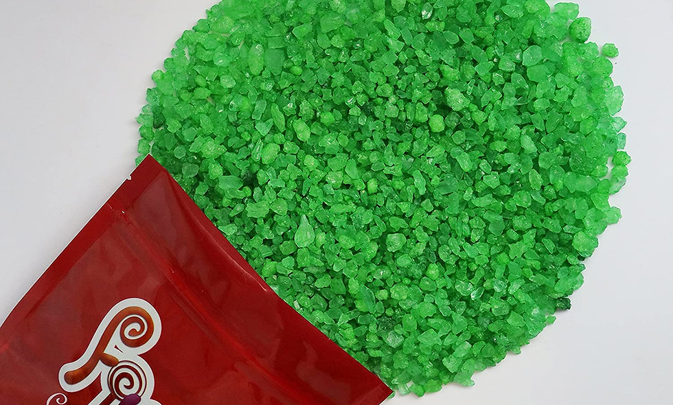 Rock Candy Crystals (Green Lime)