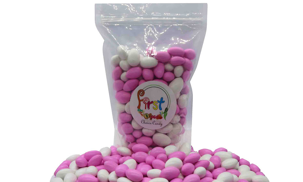 Jordan Almonds (Pink & White)
