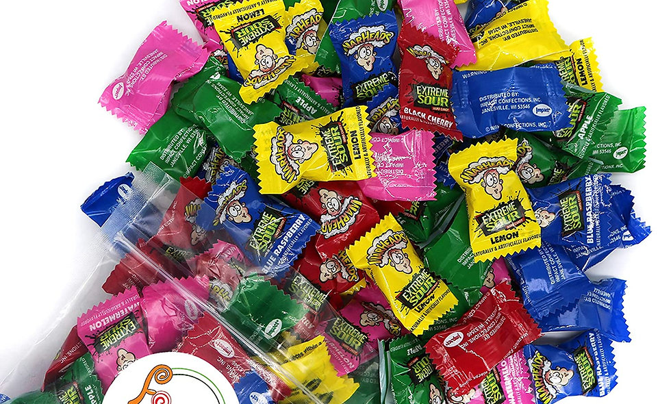 Warheads Extreme Sour Hard Candy ( Assorted Flavors)