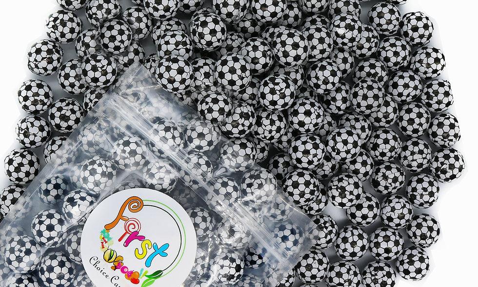 Milk Chocolate Foil Wrapped Balls (Soccer Balls)